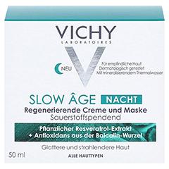 VICHY SLOW Age Nacht Creme + gratis Vichy Slow Age Nacht Creme 15 ml 50 Milliliter - Vorderseite