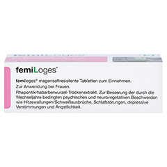femiLoges 50 Stück - Unterseite