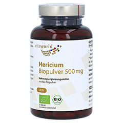 HERICIUM BIOPULVER 500 mg Kapseln 120 Stück