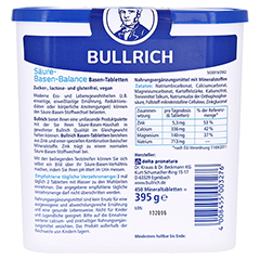 Bullrich Säure Basen Balance Tabletten 450 Stück - Rückseite