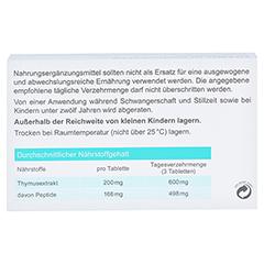 THYMO-GLANDURETTEN Tabletten 90 Stück - Rückseite