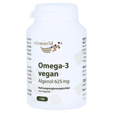 OMEGA-3 vegan Algenöl 625 mg Kapseln 120 Stück