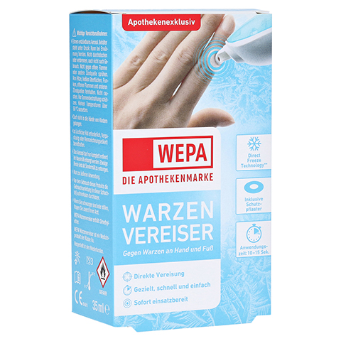 WEPA Warzenvereiser 1 Stück