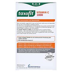 TAXOFIT Vitamin C 1000 Depot Tabletten 60 Stück - Rückseite