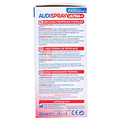 AUDISPRAY ultra Ohrenspray 20 Milliliter - Rechte Seite