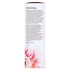 MINERAL SHOWER Gel & Bodylotion Cact.&Pink Pep.Kit 450 Milliliter - Rechte Seite