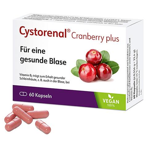 CYSTORENAL Cranberry plus Kapseln 60 Stück