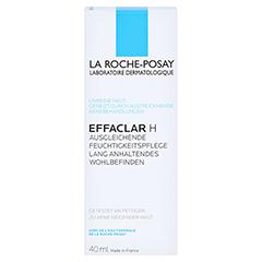 La Roche-Posay Effaclar H Feuchtigkeitspflege bei austrocknender, medikamentöser Behandlung + gratis Effaclar Reinigungsgel 50 ml 40 Milliliter - Vorderseite