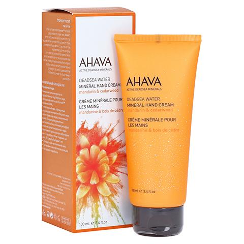 Ahava Mineral Hand Cream Mandarin & Cedarwood 100 Milliliter