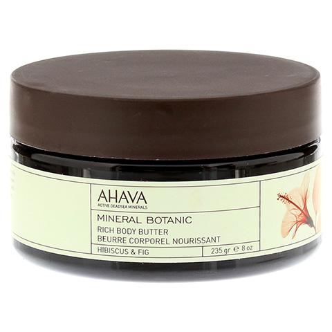 Ahava Mineral Botanic Body Butter Hibiskus/Feige 235 Gramm