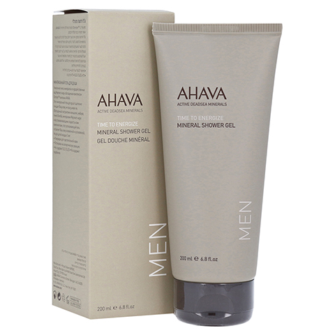 Ahava Men Mineral Shower Gel 200 Milliliter