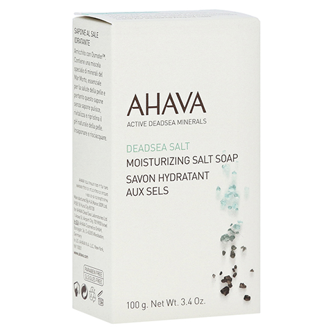 Ahava Moisturizing Salt Soap 100 Gramm