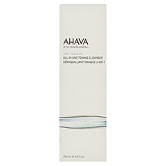 Ahava All in 1 Toning Cleanser 250 Milliliter - Vorderseite