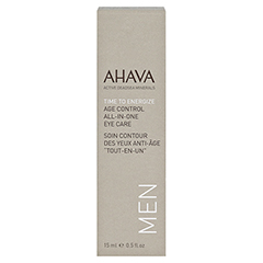 Ahava Men All-on-One Eye Care Cream 15 Milliliter - Vorderseite