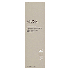 Ahava Men Foam Free Shaving Cream 200 Milliliter - Vorderseite