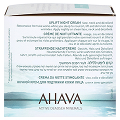 Ahava Uplift Night Cream 50 Milliliter - Linke Seite