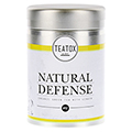 NATURAL DEFENSE Organic green Tea with Ginger Dose 70 Gramm