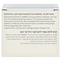 Ahava Essential Day Moisturizer normale/trockene Haut 50 Milliliter - Rückseite