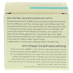 Ahava Age Conrol All Day Moisturizer SPF 15 50 Milliliter - Rückseite