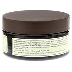 Ahava Mineral Botanic Body Butter Hibiskus/Feige 235 Gramm - Rückseite