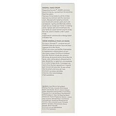 Ahava Mineral Hand Cream 100 Milliliter - Rückseite