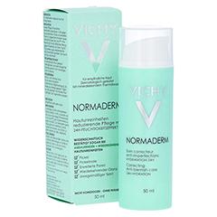 VICHY NORMADERM 24h Feuchtigkeitspflege + gratis Normaderm Reinigungsgel 15 ml 50 Milliliter - Vorderseite