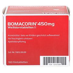 Bomacorin 450mg Weißdorntabletten N 100 Stück N3 - Unterseite