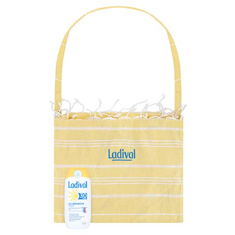 Ladival Allergische Haut Gel LSF 30 + gratis Ladival Strandtuch 200 Milliliter