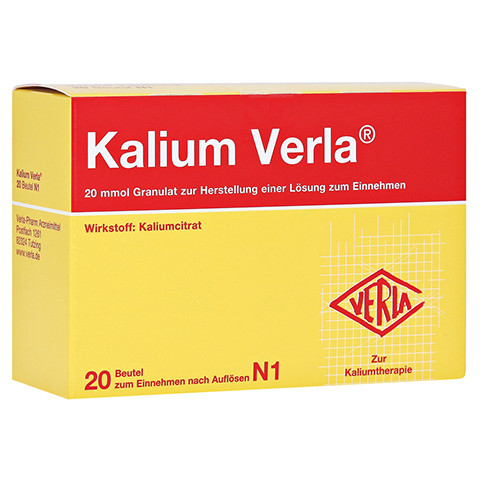 Kalium Verla 20 Stück N1