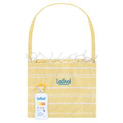 LADIVAL Kinder Sonnenschutz Spray LSF 50+ + gratis Ladival Standtuch 200 Milliliter