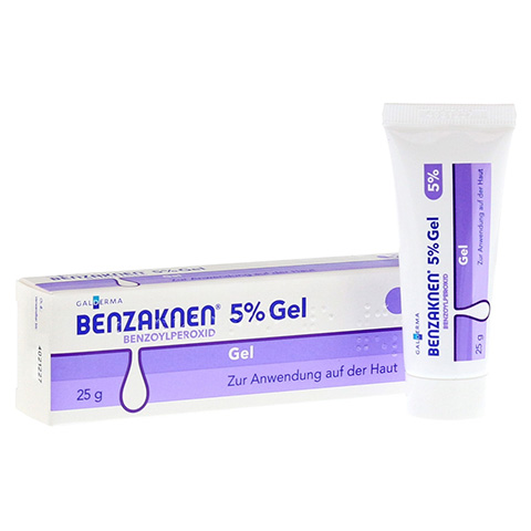 Benzaknen 5% 25 Gramm N1