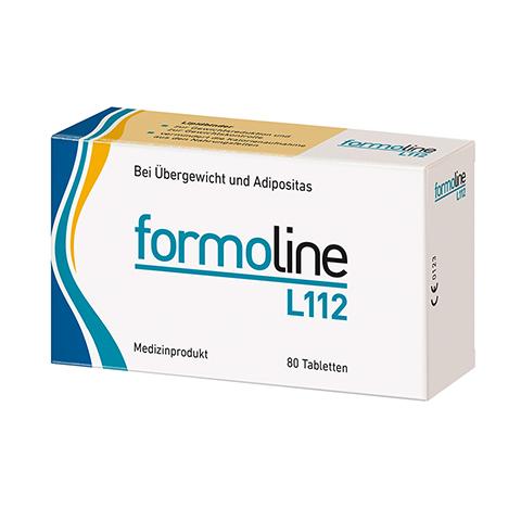 FORMOLINE L112 Tabletten + gratis formoline Kalorienzähler 80 Stück