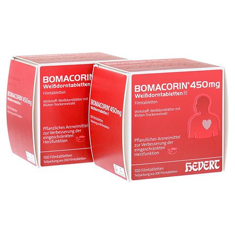 BOMACORIN 450 mg Weißdorntabletten N 200 Stück