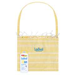 Ladival Allergische Haut Sonnenschutz Gel LSF 30 + gratis Ladival Standtuch 250 Milliliter