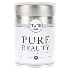 PURE BEAUTY Organic white Tea with Mango Dose 60 Gramm