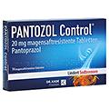 PANTOZOL Control 20mg + gratis Tablettenbox 14 Stück