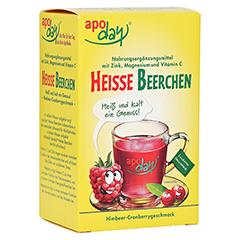 Apoday Heiße Beerchen + Vitamin C + Zink + Magnesium Pulver 10x10 Gramm