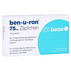 Ben-u-ron 75mg 10 Stück N1