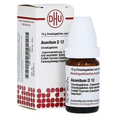 ACONITUM D 12 Globuli 10 Gramm N1