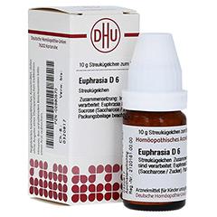 EUPHRASIA D 6 Globuli 10 Gramm N1