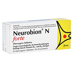 NEUROBION N forte überzogene Tabletten 20 Stück