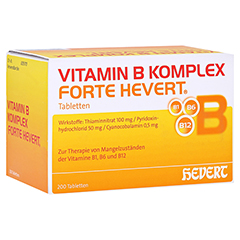 Vitamin B Komplex forte Hevert Tabletten 200 Stück