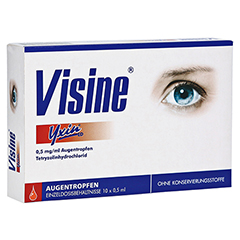 Visine Yxin ED 10x0.5 Milliliter