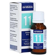 BIOCHEMIE Globuli 11 Silicea D 12 15 Gramm N1