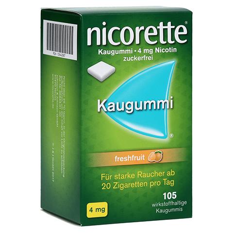 Nicorette 4mg freshfruit 105 Stück