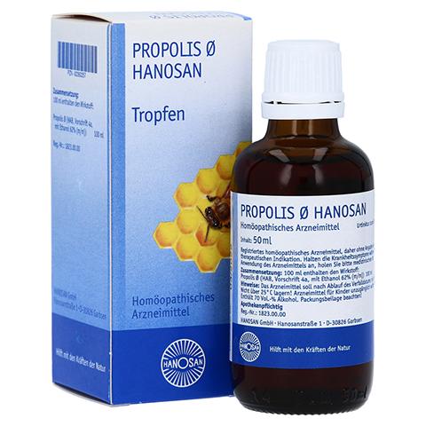 PROPOLIS Urtinktur Hanosan 50 Milliliter N1