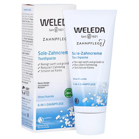 WELEDA Sole Zahncreme 75 Milliliter
