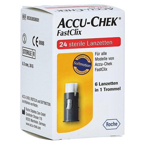 ACCU-CHEK Fastclix 24 Stück