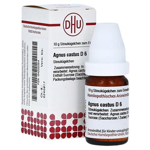 AGNUS CASTUS D 6 Globuli 10 Gramm N1