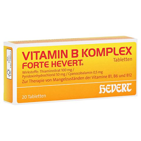 Vitamin B-Komplex forte Hevert 20 Stück N1